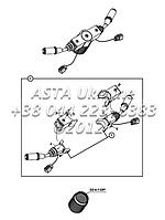 Рычаги управления на Hidromek 102B