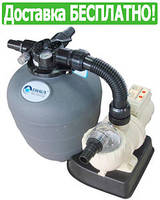 Фильтрационная установка для бассейна EMAUX FSU-8TP (8 м3/час, 17 кг песка)