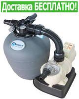 Песочный фильтр для бассейна EMAUX FSU-8TP (8 м3/час, 17 кг песка)