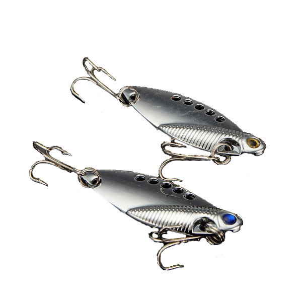 11g 5см VIB swimbait рыба приманка металла Твердые приманки приманки с рыболовный крючок - 1TopShop