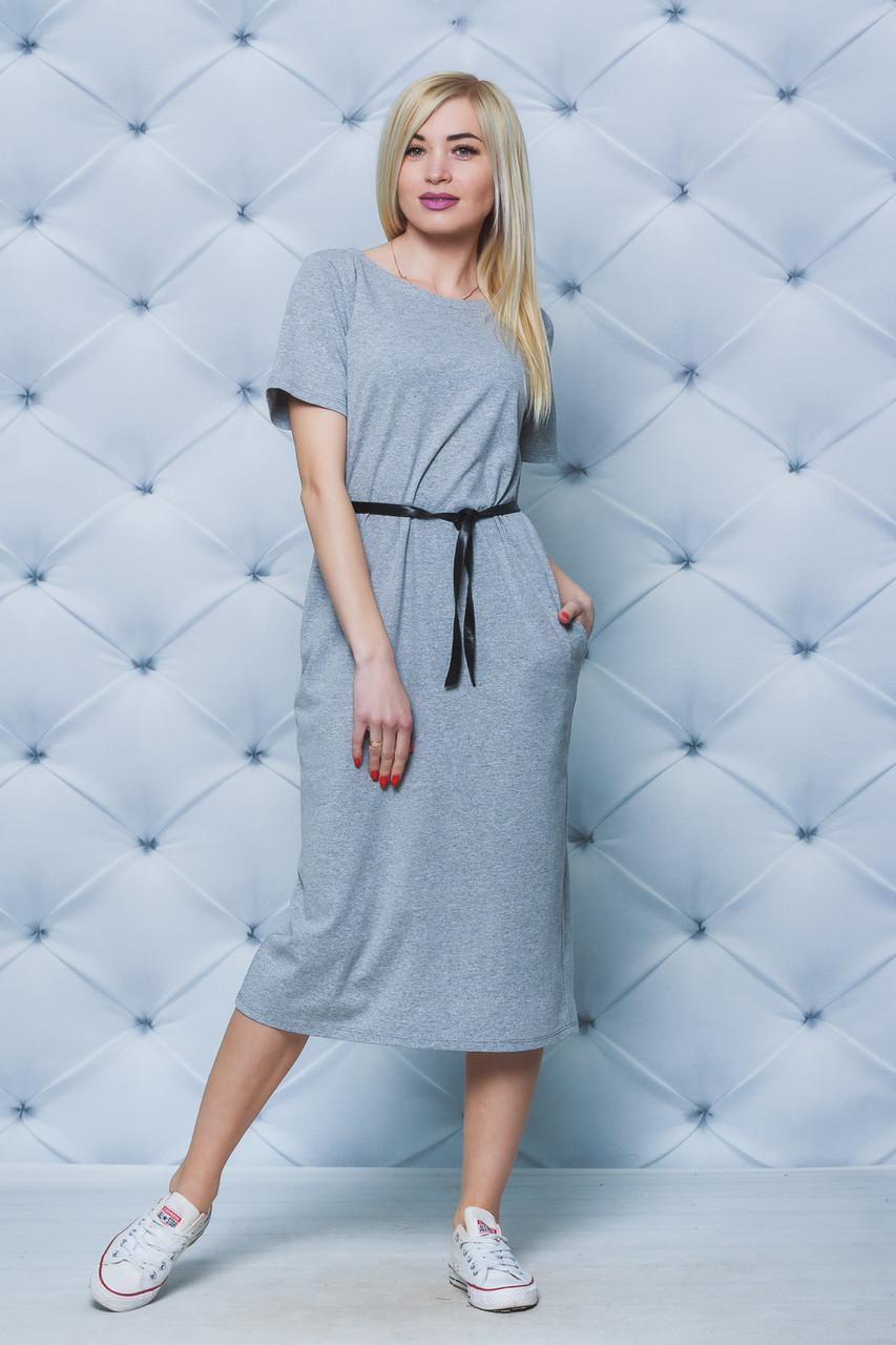 Платье женское летнее меланж