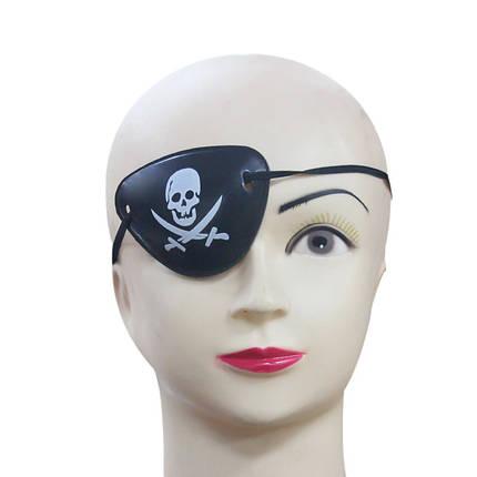 ХэллоуинPirateEyePatchCostumesПираты Карибского моря Аксессуары для маскарадов Cyclops Goggle - 1TopShop, фото 2