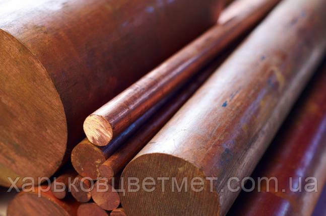 Пруток медный круглый диаметр 8 мм длинна 3000мм, фото 2