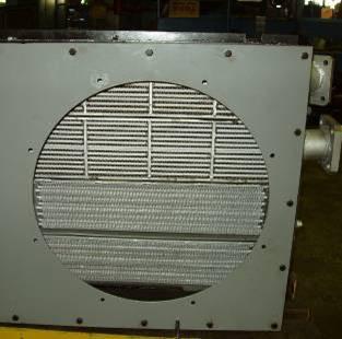 Теплообменник с воздушным охлаждением