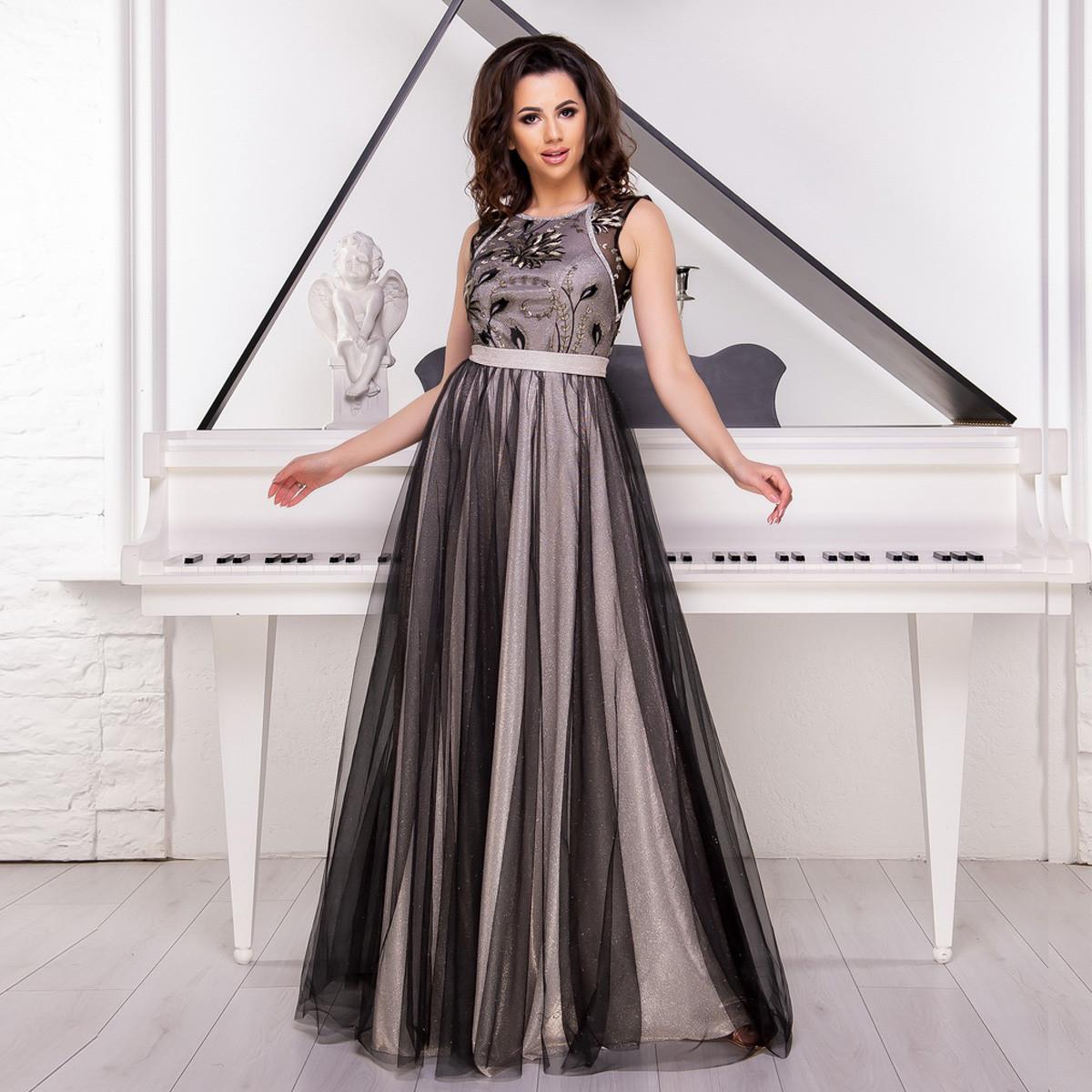 e8fd4e91015 Платье длинное пышное вечернее