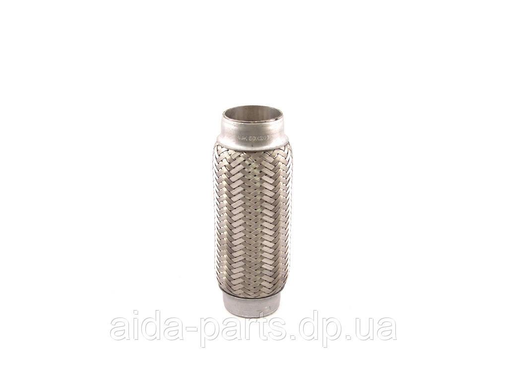 Гофра глушника 50х200 (3-х слойна) Lanos (стандарт) (AGK Польща)
