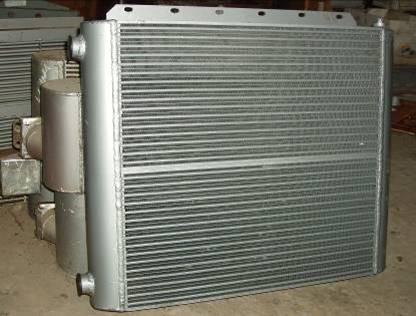 Воздушный теплообменник для охлаждения масла