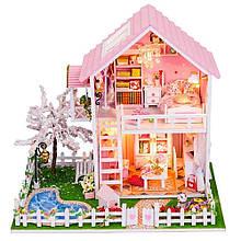 """3D Румбокс """"Рожева мрія"""" - Ляльковий Дім Конструктор / DIY Doll House від CuteBee"""