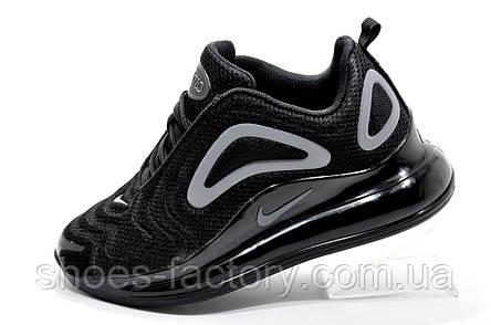 Женские кроссовки в стиле Nike Air Max 720, Black, фото 2