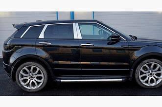 Land Rover Range Rover Evoque 2012- Накладки дверных стоек 4шт
