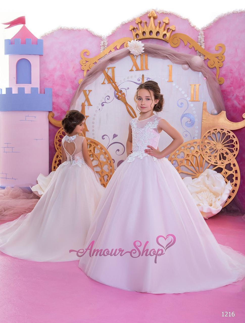 Детское свадебное платье    1216