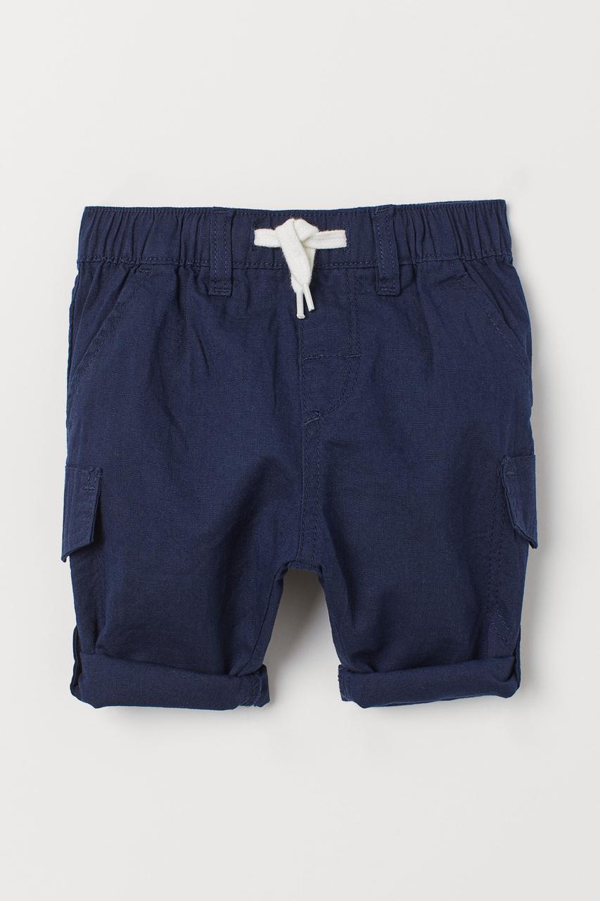 Брюки-шорты H&M темно-синие (SW-10)
