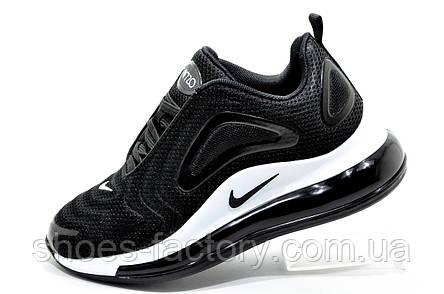 Женские кроссовки в стиле Nike Air Max 720, White\Black, фото 2