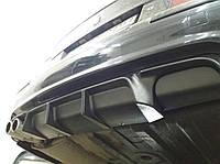 Диффузор юбка заднего бампера тюнинг BMW E39 M paket стиль M5 F10