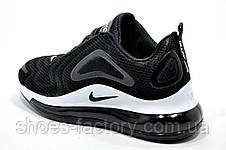 Женские кроссовки в стиле Nike Air Max 720, White\Black, фото 3