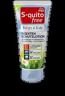 Детский защитный крем от укусов насекомых S-quito free Babys & Kids Insektenschutz
