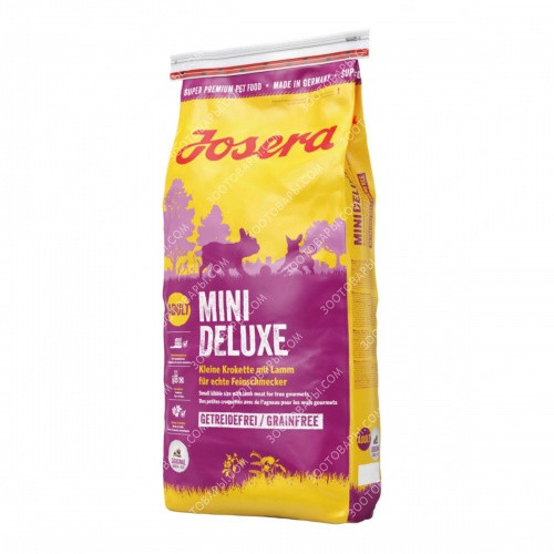 Josera Mini Deluxe Беззерновой корм для собак мелких пород, 900 гр