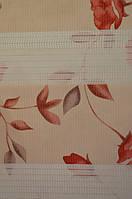 Рулонные шторы день-ночь с рисунком
