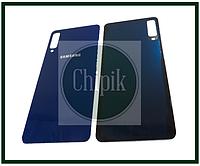 Батарейная крышка для Samsung A750, Galaxy A7 2018, Синяя