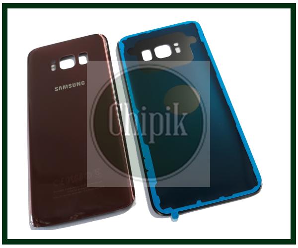 Батарейная крышка для Samsung G950 Galaxy S8, бордовая