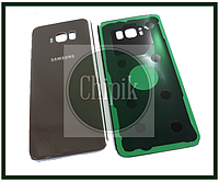 Батарейная крышка для Samsung G955 Galaxy S8+ (Gold)