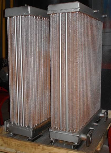 Теплообменник для охлаждения воздуха
