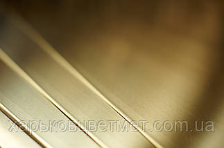Лист латунный мягкий, толщина 0,5 мм (размер 600мм х 1500мм), фото 2