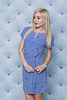 Женское летнее платье принт Ласточки, фото 1