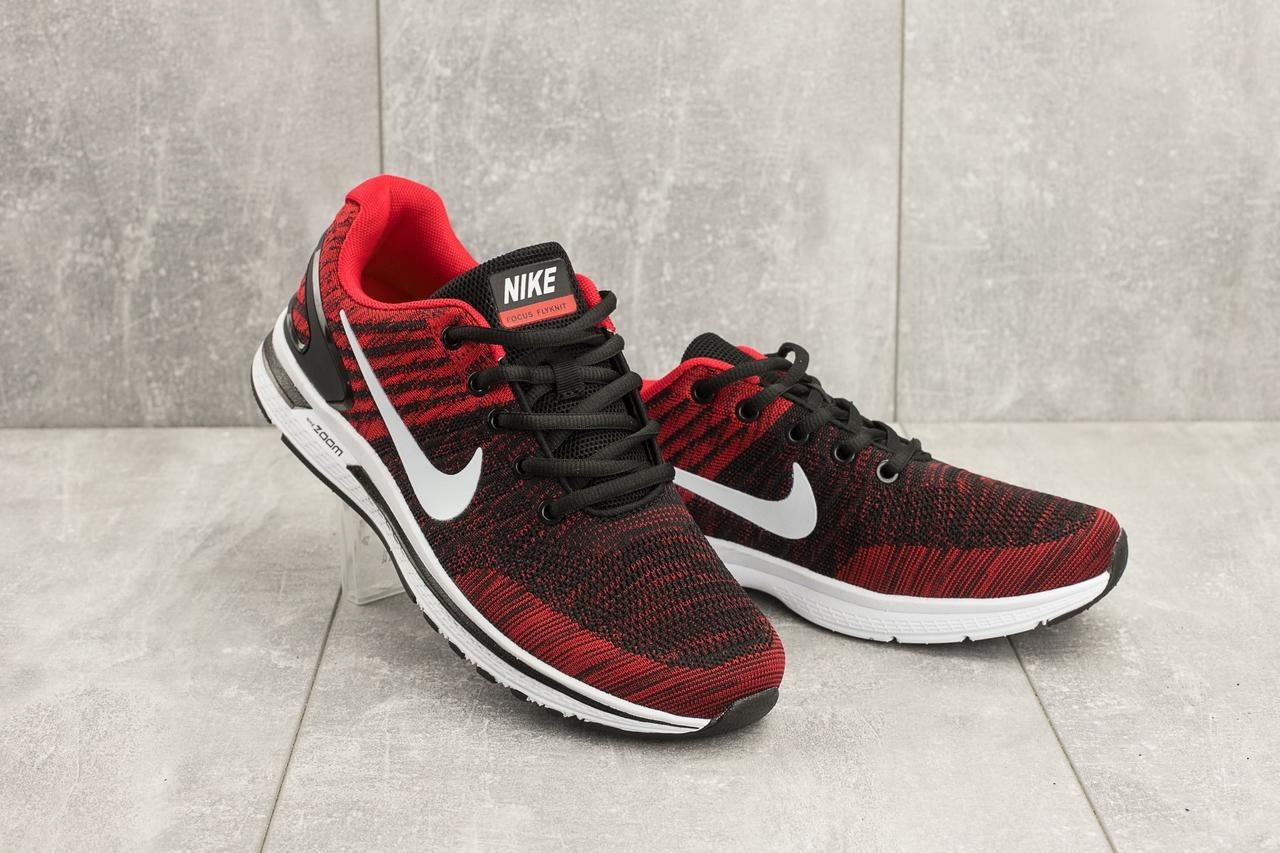 Кроссовки A 049 -8 (Nike Zoom) (весна/осень, мужские, текстиль, красный)