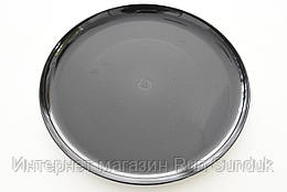 Черная тарелка Palm Sorona, 25.4 см