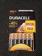 Батарейка DURACELL AAA/LR03 (6шт), фото 1