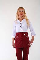 Женский медицинский костюм, батист
