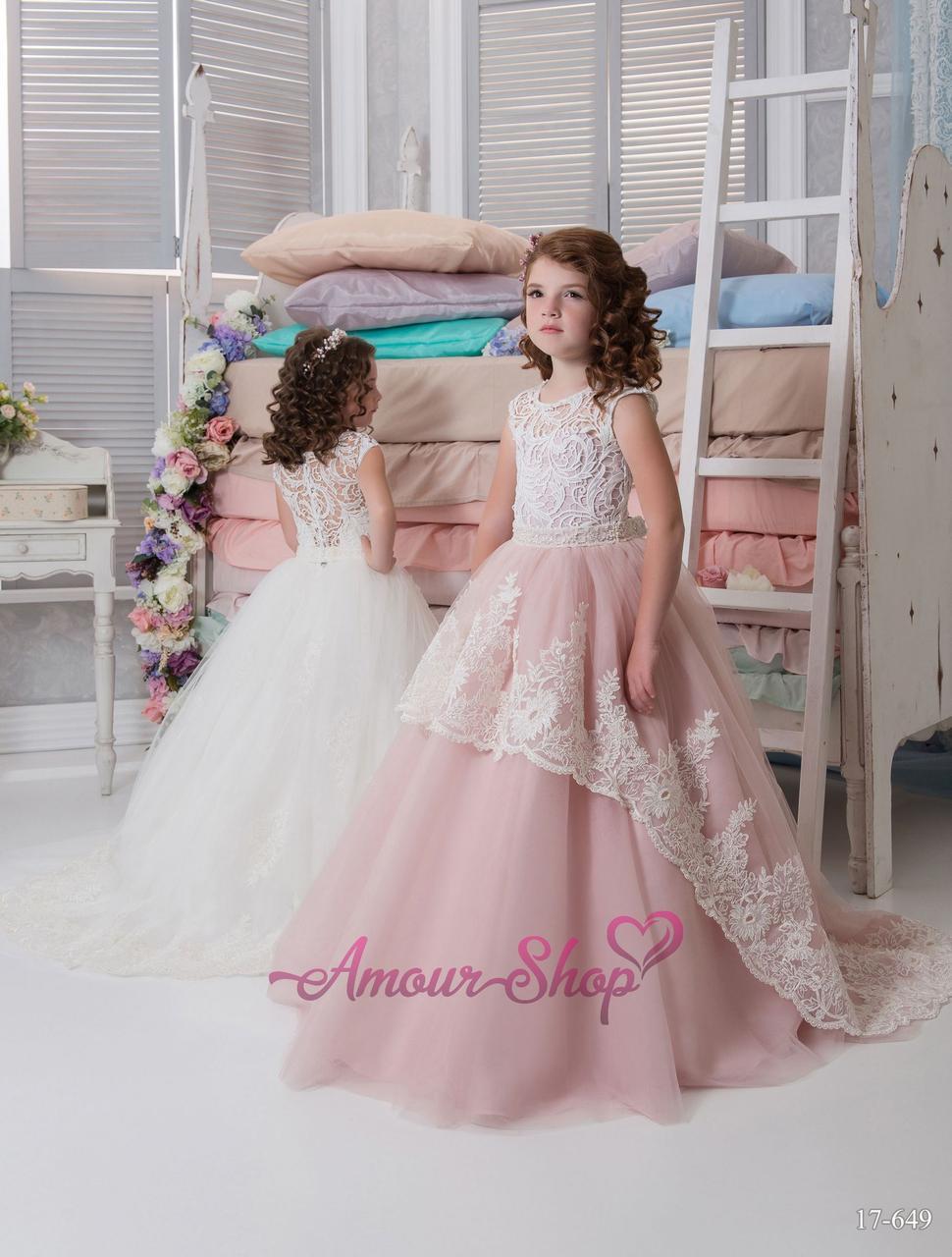 Детское нарядное платье, пышное