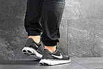 Мужские кроссовки Nike Free Run 5.0 (черно-серые с белым) , фото 2