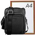 Мужская кожаная борсетка VITO TORELLI VT-9729-black , чёрный, фото 9