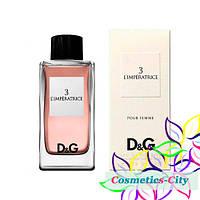 Женская туалетная вода  Dolce & Gabbana D&G 3 L`Imperatrice