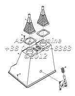 Защита экскаваторного джойстика на Hidromek 102B