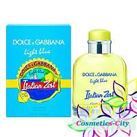 Мужская туалетная вода Dolce Gabbana Light Blue Italian Zest,75мл