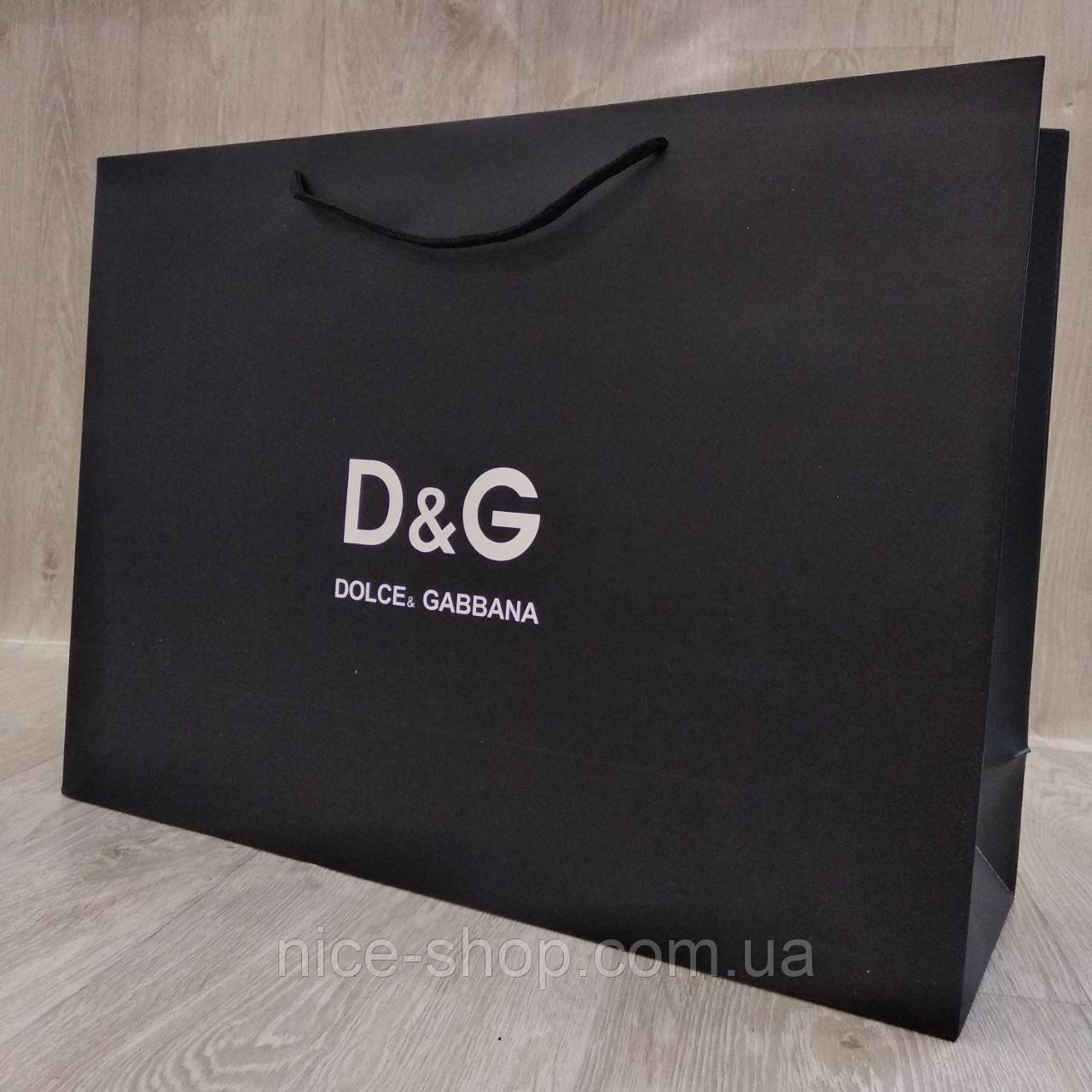 Подарочный пакет Dolce& Gabbana горизонтальный, mахi