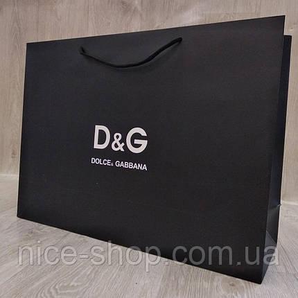Подарочный пакет Dolce& Gabbana горизонтальный, mахi, фото 2