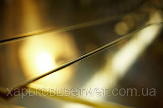 Лист латунный мягкий, толщина 3,0 мм (размер 600мм х 1500мм), фото 3