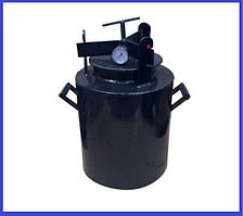 Автоклав Черный средний винт газ (0,5-20 шт. 1 л-12 шт,)