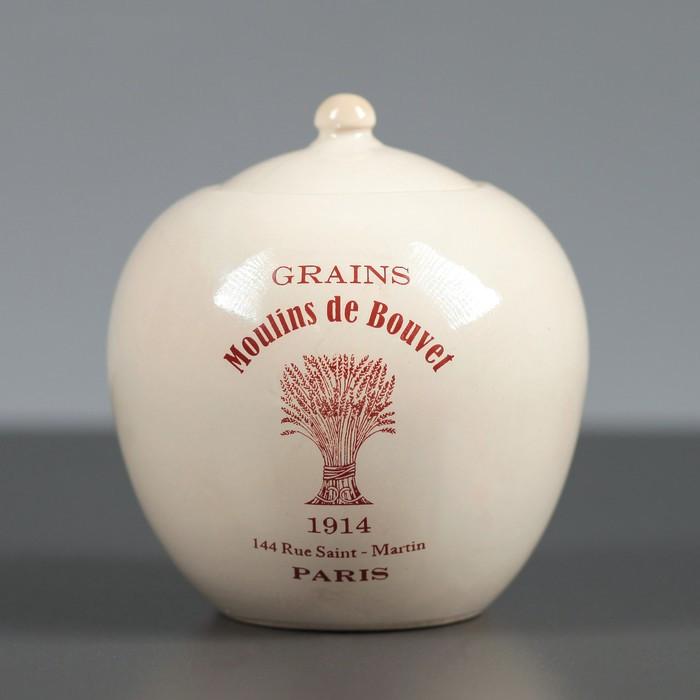 "Сахарница Прованс ""Moulins de Bouvel"" евро, 0.7 л, микс"