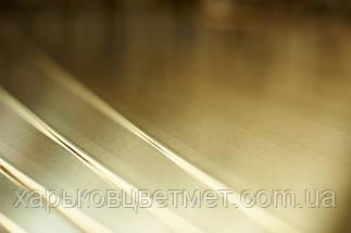 Лист латунний напівтвердий, товщина 10,0 мм (розмір 600мм х 1500мм), фото 3