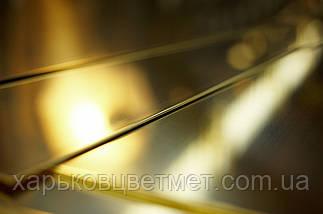 Лист латунний напівтвердий, товщина 20,0 мм (розмір 600мм х 500мм), фото 3
