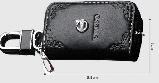 Ключница для авто Кожа KeyHolder PORSCHE, фото 4
