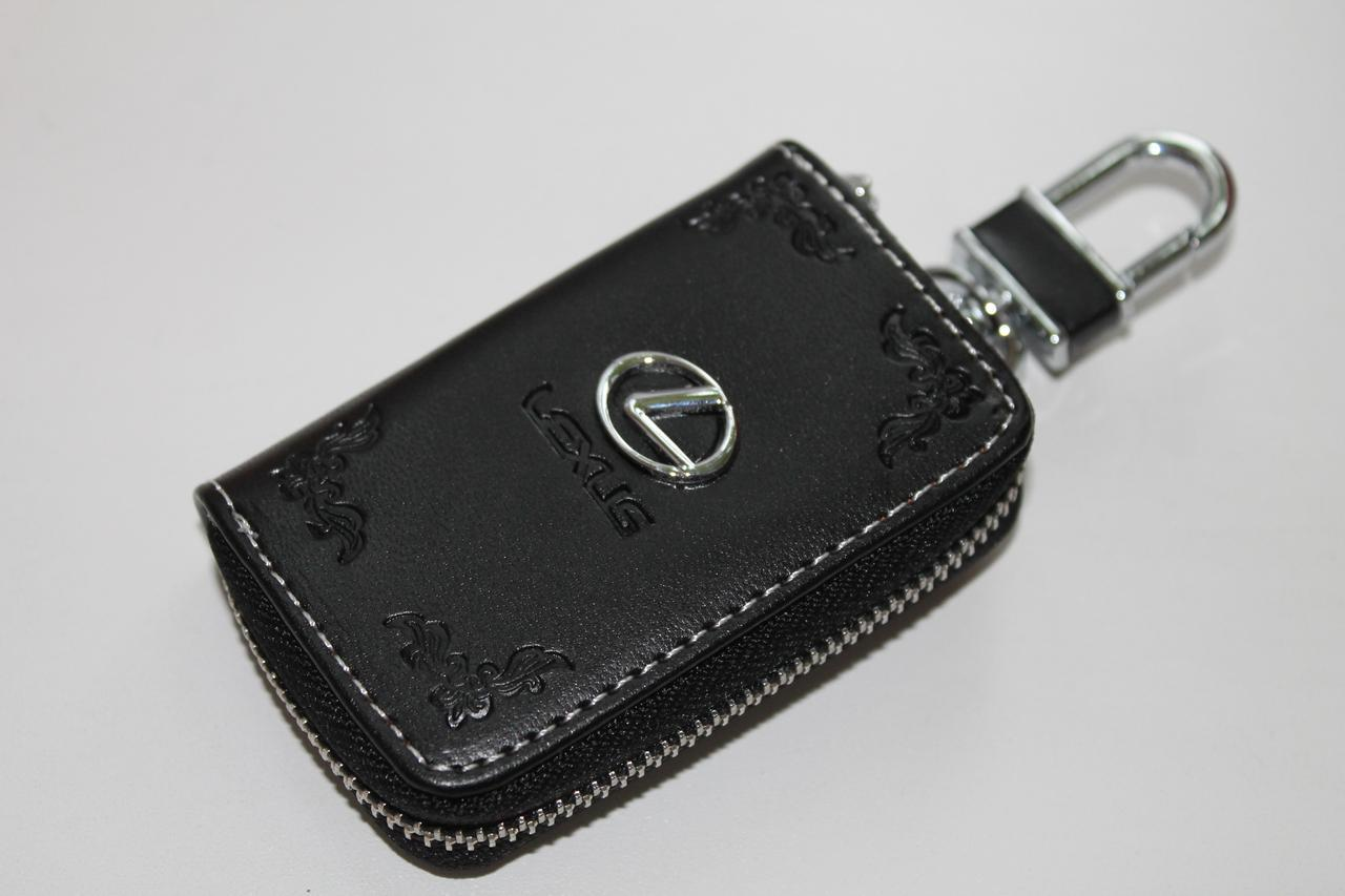 Ключница для авто Кожа KeyHolder LEXUS