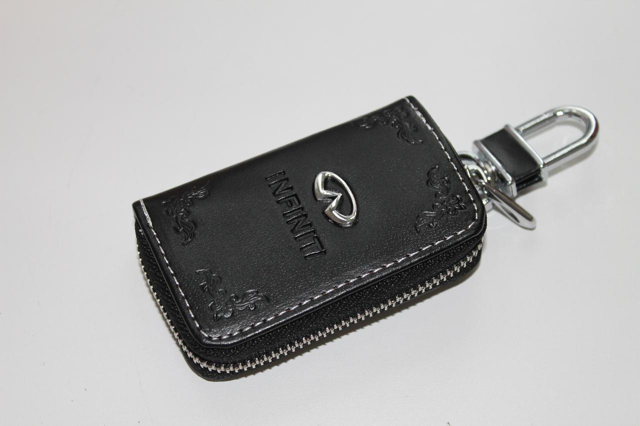 Ключница для авто Кожа KeyHolder INFINITY