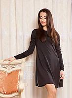 Оригинальное платье с замочками