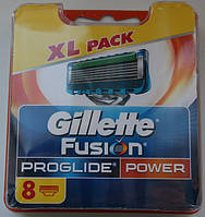 Gillette Fusion Proglide Power (джиллет фьюжн проглайд повер) упаковка 8 штук оригинал